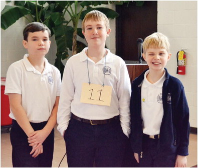 Splendid Spellers at St. Michael's