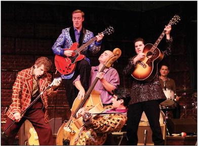 EACC to present 'Million Dollar Quartet' at Fine Arts Center