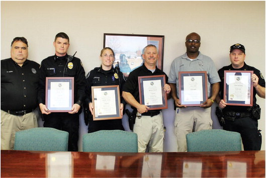 Promotions for a few of  West Memphis' finest