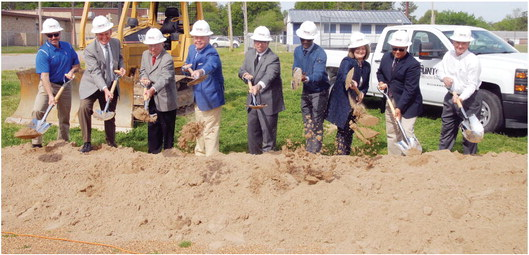 WMSD breaks ground on new  Bragg
