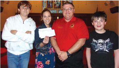 WMUMC Destination Imagination group donates to West Memphis EMS
