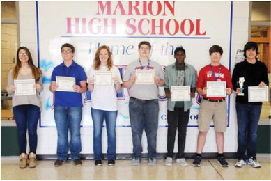 Marion students earn high marks in regional competition