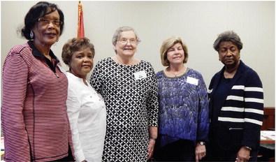 Retired teachers cap year with scholarship presentations