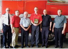 Moseley retires as WMFD Chaplain