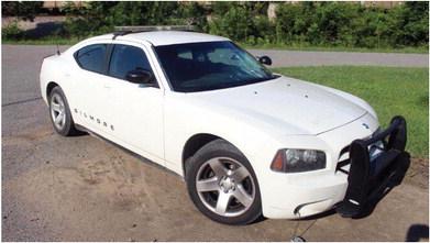 Gilmore Police Car Vandalized