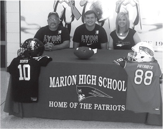 Marion senior Batesville-bound