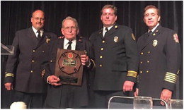 Recognition for local fire departments at annual convention