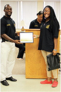 WM student learns about career opportunities