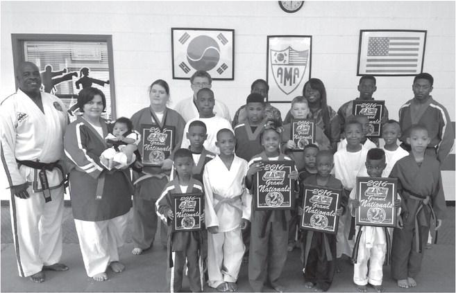 WM Martial Arts wins big