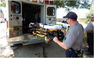 WMFD ambulance gets stretcher upgrade