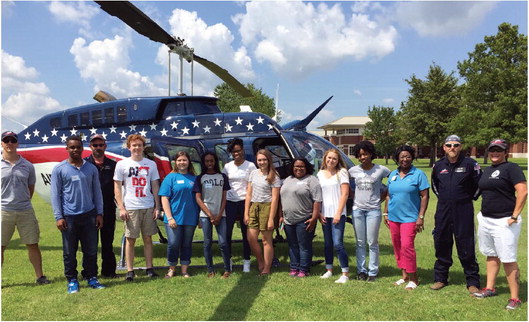 M*A*S*H program gives students medical career insights