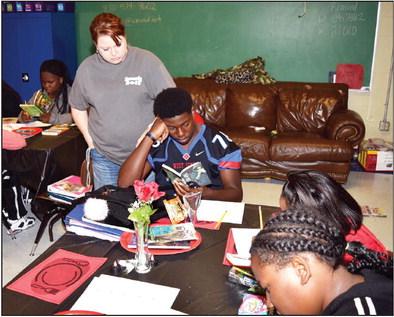 AWM students enjoy 'book tasting' event