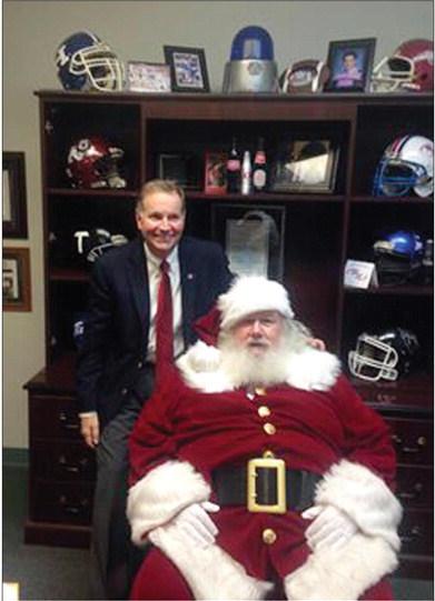 Santa at the CCSO