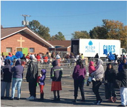 Kids for the Future  Cares  Distributes  Donations