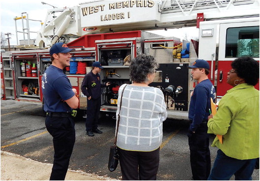 WMFD unveils new equipment at council meeting