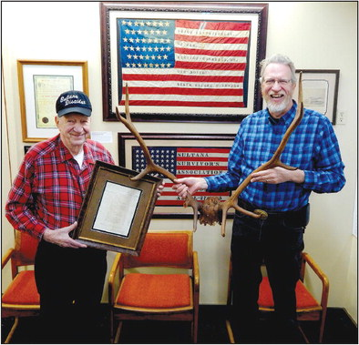 Sultana museum adds antlers