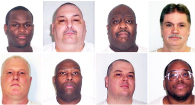 Governor sets execution dates for 8 Arkansas death row inmates – again