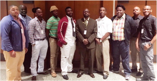 ASU Mid-South representatives attend Men of Color conference