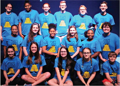 Marion student shines on stage