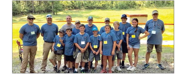 Crittenden County 4-H Shooting Sports Trap Team