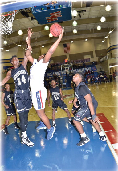 Blue Devils rely on the three to beat Jonesboro at home