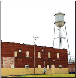 Earle water tower needs refurbishing