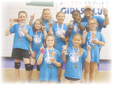 Glitter Hitters take Spring Volleyball club championship