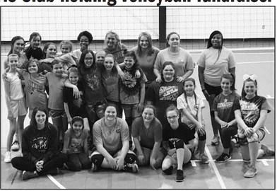 J.W. Rich Girls Club holding Volleyball fundraiser