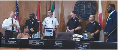 Firefighters Recognized