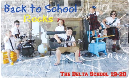 First Day at the Delta School