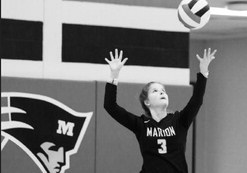 Marion Volleyball tames Lions