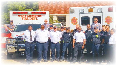 West Memphis EMT ranks fully staffed