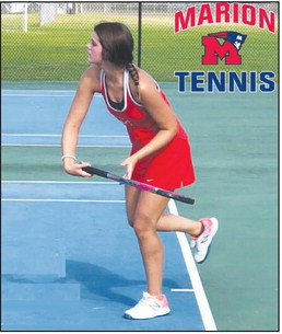 Patriots beat Yellowjackets on the tennis court
