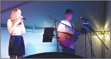 Student musicians shine at film fest