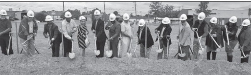West Memphis breaks ground on new buildings