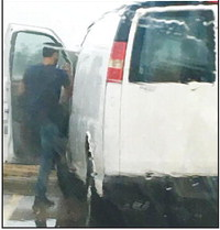 Out-of-state van puts Marion resident on alert
