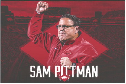Arkansas names Pittman as new football coach