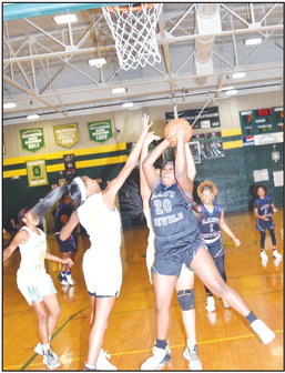 Lady Devils cruise against Central