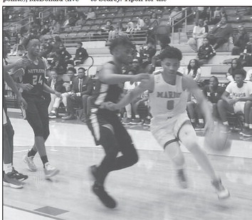 Marion splits with Nettleton at home