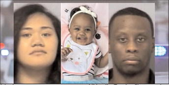 Pair arrested after baby found safe