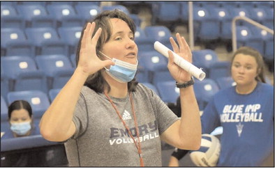 Emory coach holds camp for WM Volleyballers