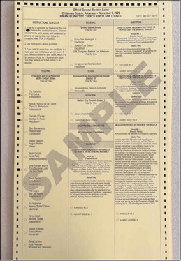 Full candidate list for municipal elections