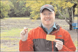 Visitor Finds 9-Carat  Diamond at Crater of  Diamonds State Park