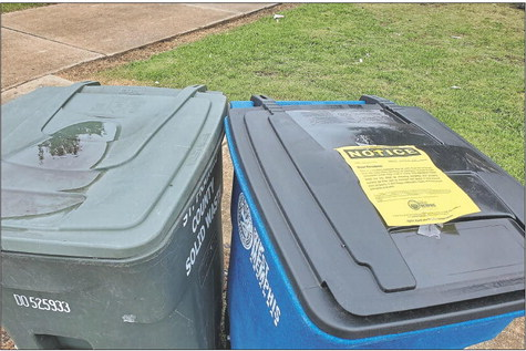 WM Sanitation to residents: 'Take care of your cans!'